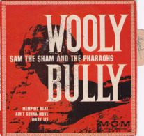 SAM THE SHAM AND THE PHARAOHS ( Pochette Vide Avec Languette ) WOOLY BULLY - Rock