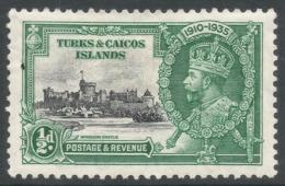 Turks & Caicos Islands. 1935 KGV Silver Jubilee. ½d MH. SG 187 - Turks And Caicos