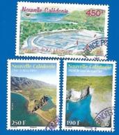"""2013 Et 2015 - """"Le Bota Mère"""", """"Le Saut Du Guerrier"""", """"Les Salins De Kô"""" - Neukaledonien"""