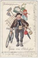 Gruss Vom Oktoberfest - Sonderstempel Z 100-jährigen Jubiläum -  Sign. Engelhard - 1910    (190912) - Muenchen