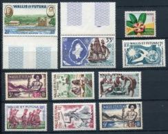 RC 13888 WALLIS ET FUTUNA N° 157 / 160 + PA N° 16 / 17 POSTE + POSTE AERIENNE COTE 36,00€ NEUF ** - Unused Stamps