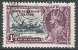 Turks & Caicos Islands. 1935 KGV Silver Jubilee. 1/- Used. SG 190 - Turks And Caicos