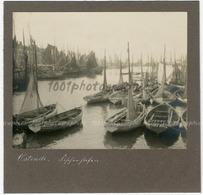 Vue Sur Le Port D'Ostende. - Photos