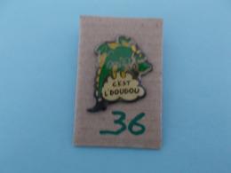 """PIN'S - MONS - """"  Le Dragon  C'est L'doudou  """"- Voir Photo ( 36 ) - Steden"""