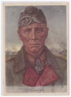 Dt.-Reich (000083) Propaganda Karte Generalmajor Rommel, W. Willrichkarte, Gebraucht Mit SST Obersalzberg Am 20.4.1941 - Deutschland