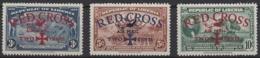 Liberia Aereo  17/19 ** Cruz Roja. 1941 - Liberia