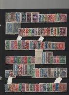 Collection TCHECOSLOVAQUIE Neufs**/* Et Obl. Nombreuses Séries Complètes Et Bloc 21a Non-dentelés Forte Côte - Lots & Serien