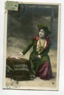 ARTISTE 1139 CORTEZ Dans Carmen Cartomancienne Tireuse De Cartes Photog MOREAU - Entertainers