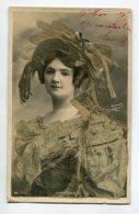 ARTISTE 1160 CHAMBLAIS Portrait Jolie Carte Reliefs Petits Brillants Sartony Paris - Artistas