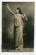 ARTISTE 1163 SARAH BERNHARDT  Théatre  Déclamant Bras Levés    1904 Timbrée - Theatre