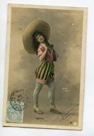 ARTISTE 1190 COTTIN En Mexican  Short Et Talons  Au MOULIN Rouge   Photog WALERY - Entertainers
