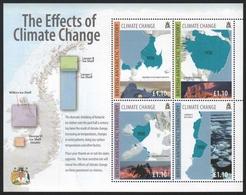 BAT / Brit. Antarktis 2009 - Mi-Nr. Block 17 ** - MNH - Klimawandel - Ungebraucht