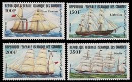 Komoren 1984 - Mi-Nr. 718-721 ** - MNH - Schiffe / Ships - Komoren (1975-...)