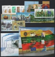 Lituania 2009 Annata Quasi Completa / Almost Complete Year Set **/MNH VF - Lituania