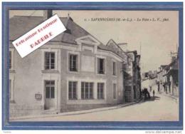 Carte Postale 49. Savennières  La Poste  Trés Beau Plan - France