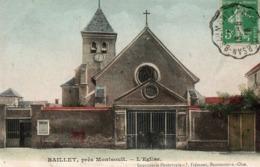 BAILLET ( 95 ) - L' église - Francia