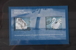 D(A) 063 ++ LOT AUSTRIA OOSTENRIJK SWAROVSKI KRISTALLENWELT USED GESTEMPELD - Blokken & Velletjes