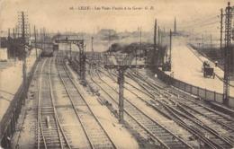 """CPA FRANCE 59 """"Lille, La Gare"""" - Lille"""