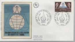 France - FDC 1er Jour - 9 DECEMBRE 1978 - Droits De L'homme - 1970-1979