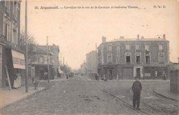 95. N° 104114 .argenteuil .carrefour De La Rue De St Germain Et Ambroise Thomas . - Argenteuil