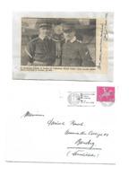 Alfred Comte (1895 - 1965) SUISSE AVIATION AUTOGRAPHE ORIGINAL AUTOGRAPH 1963 /FREE SHIPPING REGISTERED - Autographes