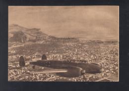 Dt.  Reich AK ME 110 über Palermo - Guerra 1939-45