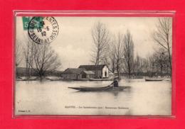 78-CPA MANTES - INONDATIONS 1910 - RESTAURANT ROBINSON - Mantes La Ville
