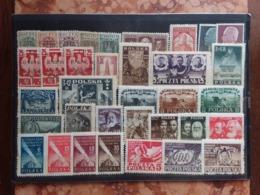 POLONIA - Lotto Anni '20/'40 In Serie - Nuovi ** + Spese Postali - 1919-1939 République