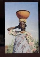 C2186 NIGERIA - FULANI WOMAN AFRICAN ETHNICS PEOPLE FOLKLORE COSTUMES - Nigeria