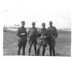 COMTE ZIMMERMANN BIDER PILLICHODY PHOTO SUISSE AVIATION DUBENDORF CIRCA 1918 /FREE SHIP. R - Aviation