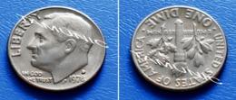 UNITED STATES USA 10 Cents (ONE DIME) 1978 D - ROOSEVELT - Bondsuitgaven