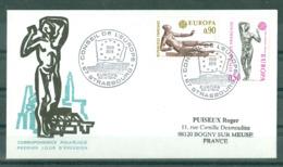 EUROPA - 20-04-74 STRASBOURG Obl PJ Conseil De L'Europe Sur Enveloppe Illustrée - 1974