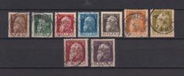 Bayern - 1911 - Michel Nr. 76/83+85 Type I - Gest. - 63 Euro - Bayern