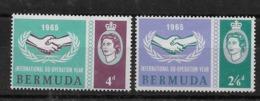Serie De Bermuda Nº Yvert 187/88 ** - Bermudas