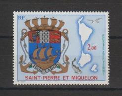 Saint Pierre Et Miquelon 1974 Armoiries PA 58 ** MNH - Nuovi