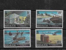 Serie De Bermuda Nº Yvert 317/20 ** BARCOS (SHIPS) - Bermudas