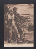 Cartolina Associazione Mutilati E Invalidi Di Guerra - Weltkrieg 1939-45