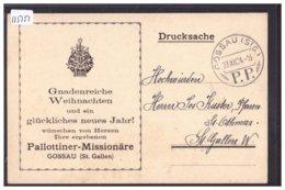 GOSSAU - PALLOTTINER MISSIONÄRE  - TB - SG St. Gall