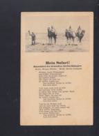 AK Heia Safari Marschlied Der Deutschen Afrikakorps - Weltkrieg 1939-45
