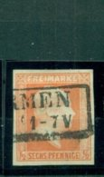 Preussen, König Friedrich Wilhelm IV.,  Nr. 13, Stempel Barmen - Prussia
