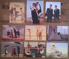 Lot De 11 Cartes Postales / Tableaux De Jack VETTRIANO 1999 - Peintures & Tableaux