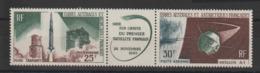 TAAF 1966 Lancement Premier Satellite PA 11A ** MNH - Poste Aérienne