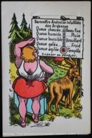 Illustration. Fantaisie. Âne. Baromètre. Ardennes. LENS. LUMA. Drawing. Fancy. Donkey. Barometer. Ardennes. - België