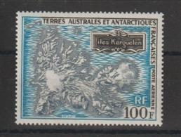 TAAF 1970 Carte Des Kerguelen PA 20 ** MNH - Airmail