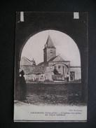 Chazeuil(Cote-d'Or)-L'eglise Vue Prise Du Vieux Chateau 1919 - Altri Comuni