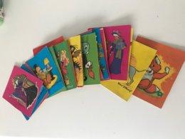 23 Images Anciennes Cartes D'identité De Chacun Des Personnages De Walt Disney - Sammelkarten, Lernkarten