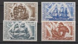 TAAF 1974 Bateaux D'expéditions PA 30-33 4 Val ** MNH - Poste Aérienne