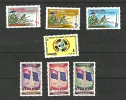 Khmère N°271 à 273, 275, 278 à 280 Neufs** Cote 3.45 Euros - Cambodia