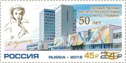 Russia 2019 Pushkin. Overprinted.MNH - 1992-.... Federation