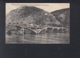 Serbia PPC Kraljevo Bridge  German Field Post 1916 - Serbia
